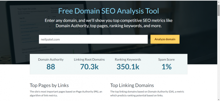 Free Domain SEO Checker